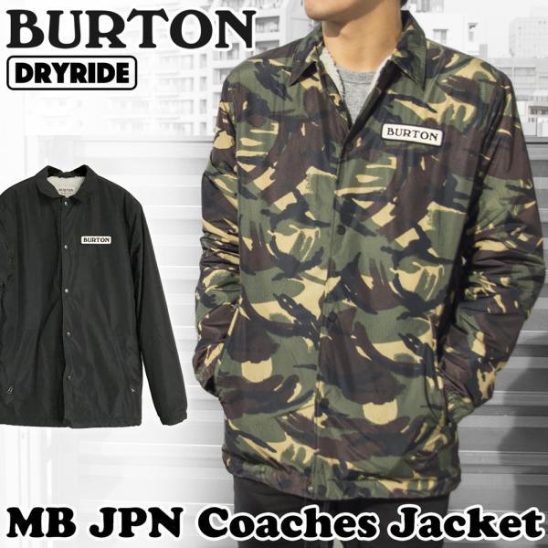 BURTON コーチジャケット MB JPN Coaches Jacket|2m50cm