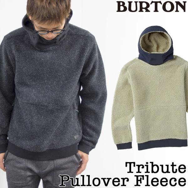 BURTON フリース Tribute Pullover Fleece|2m50cm