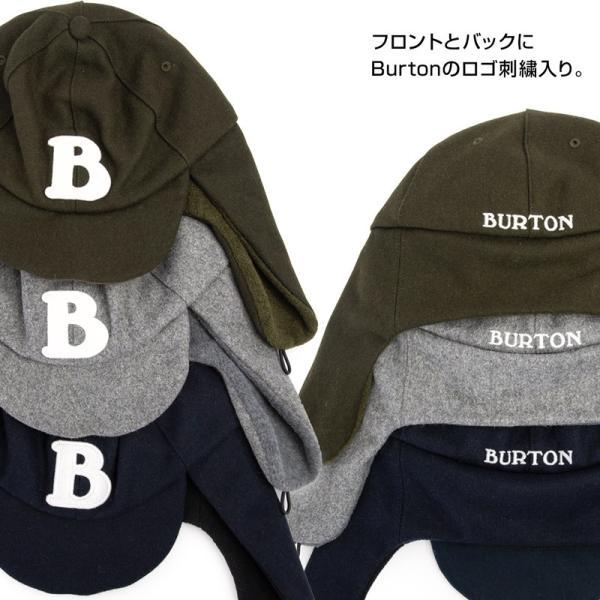 BURTON バートン Earflap Cap イヤーフラップ キャップ|2m50cm|09