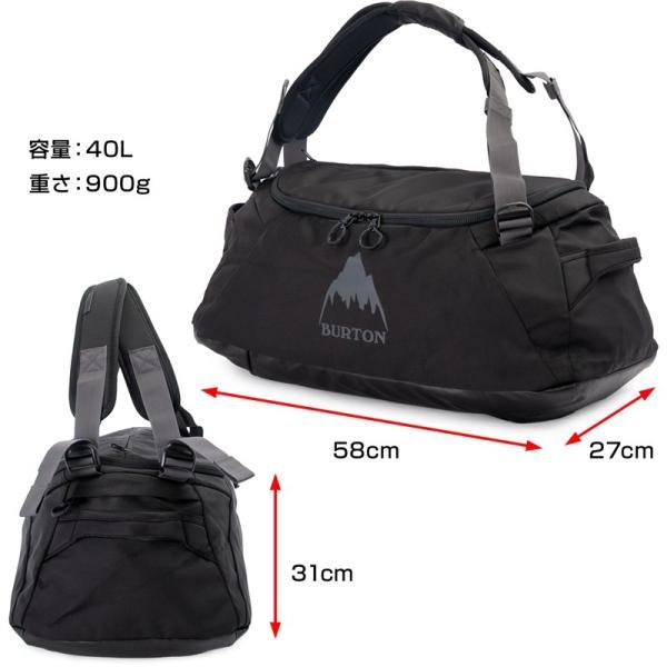 BURTON バートン ダッフルバッグ リュック Multipath Duffle Bag 40L|2m50cm|11