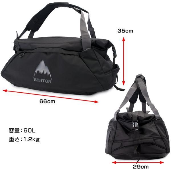 BURTON バートン ダッフルバッグ リュック Multipath Duffle Bag 60L+ 2m50cm 14