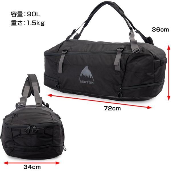 BURTON バートン ダッフルバッグ リュック Multipath Duffle Bag 90L|2m50cm|13
