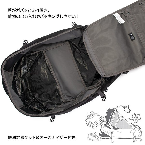 BURTON バートン ダッフルバッグ リュック Multipath Duffle Bag 90L|2m50cm|07