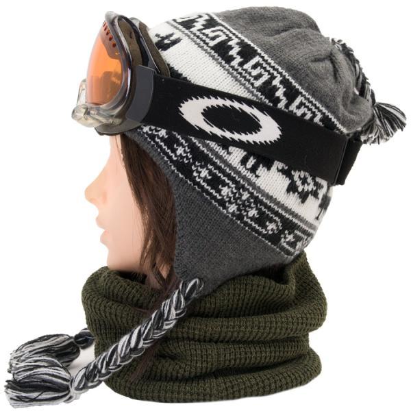 帽子 BURTON バートン Arrowsic Earflap Beanie アロージック イヤーフラップ ビーニー ニット帽|2m50cm|10