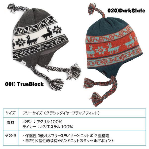 帽子 BURTON バートン Arrowsic Earflap Beanie アロージック イヤーフラップ ビーニー ニット帽|2m50cm|12