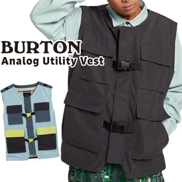 ベスト BURTON バートン Analog Utility Vest アナログ ユーティリティ ベスト|2m50cm