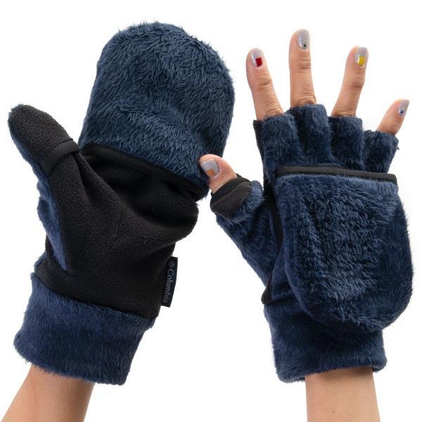 手袋 コロンビア Columbia Pigg Creek Glove ll ピグクリーク グローブ 指無し|2m50cm|11