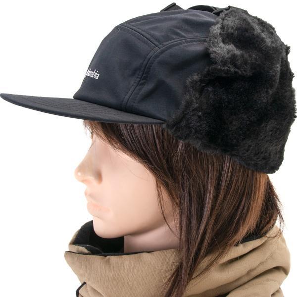 帽子 コロンビア Columbia Jourdan Mountain Fur Flap Cap ジョーダン マウンテン ファーフラップ キャップ|2m50cm|07