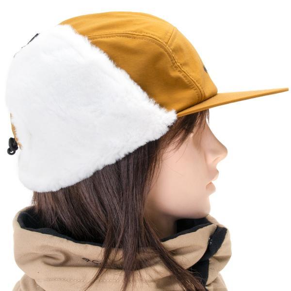 帽子 コロンビア Columbia Jourdan Mountain Fur Flap Cap ジョーダン マウンテン ファーフラップ キャップ|2m50cm|08