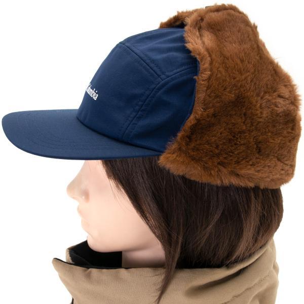 帽子 コロンビア Columbia Jourdan Mountain Fur Flap Cap ジョーダン マウンテン ファーフラップ キャップ|2m50cm|09