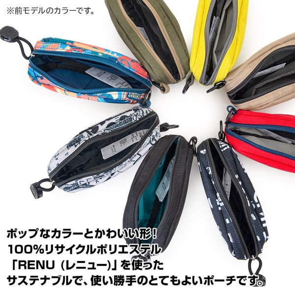 CHUMS チャムス デジカメケース Eco Dual Soft Case エコ デュアル ソフトケース|2m50cm|05
