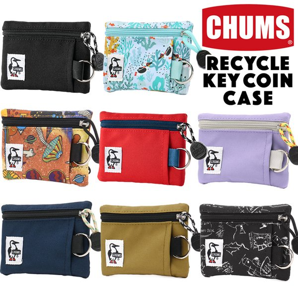 チャムス CHUMS エコ キーコインケース  財布 キーケース|2m50cm