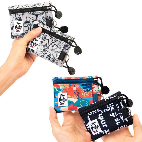 チャムス CHUMS エコ キーコインケース  財布 キーケース|2m50cm|09