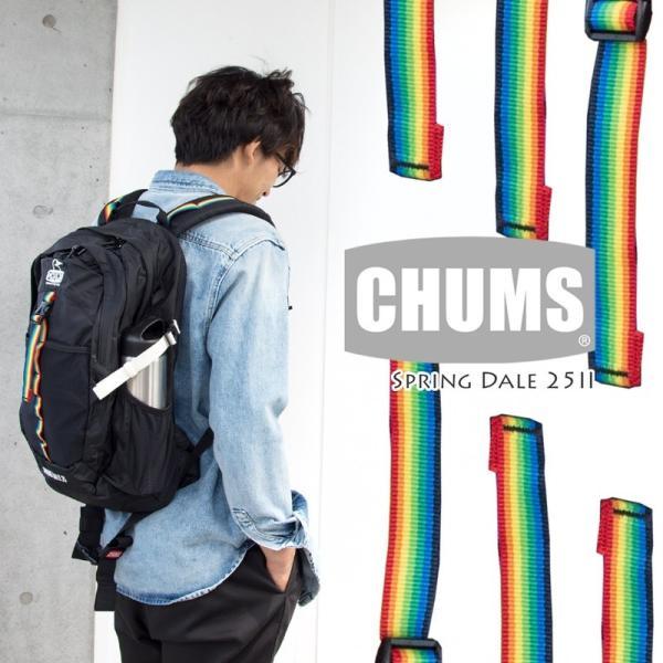 チャムス リュック スプリングデール 25 II CHUMS|2m50cm|03