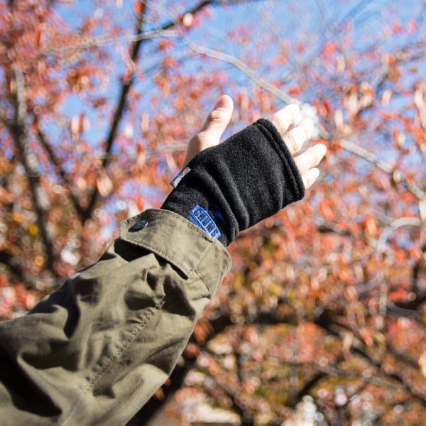 CHUMS チャムス 手袋 Polartec 200 Cuff Gaiter ポーラテック200 カフゲイター|2m50cm|11