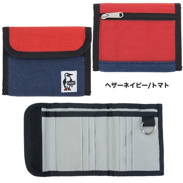 チャムス CHUMS トリフォルド ウォレット 財布|2m50cm|11