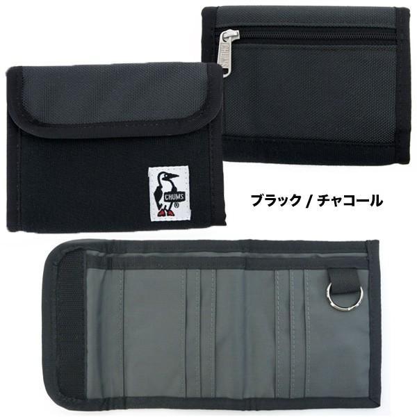 チャムス CHUMS トリフォルド ウォレット 財布|2m50cm|10