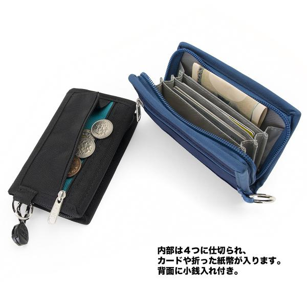 CHUMS チャムス 財布 エコカードウォレット Eco Card Wallet|2m50cm|03