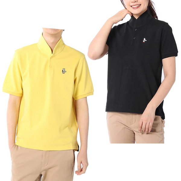 CHUMS チャムス Booby Shawl Polo Shirt ブービー ショール ポロシャツ|2m50cm|06