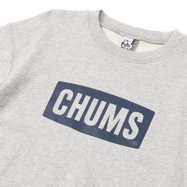 チャムス CHUMS S/S Logo Crew Top 半袖スウェット|2m50cm|11