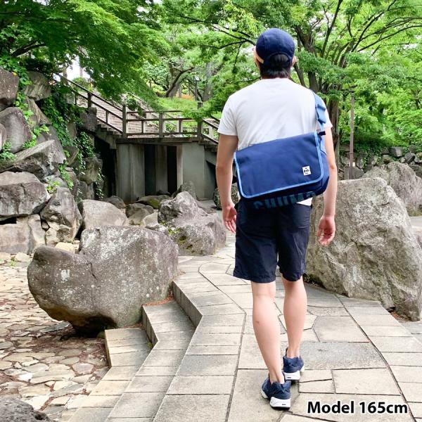 CHUMS チャムス メッセンジャーバッグ Eco CHUMS Messenger Bag エコ|2m50cm|13