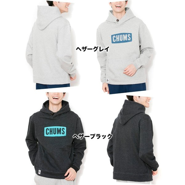 CHUMS チャムス パーカー Logo Pull Over Parka|2m50cm|02