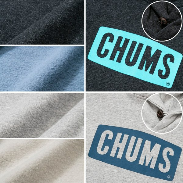 CHUMS チャムス パーカー Logo Pull Over Parka|2m50cm|04