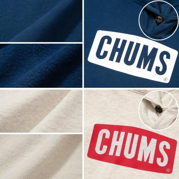 CHUMS チャムス パーカー Logo Pull Over Parka|2m50cm|07