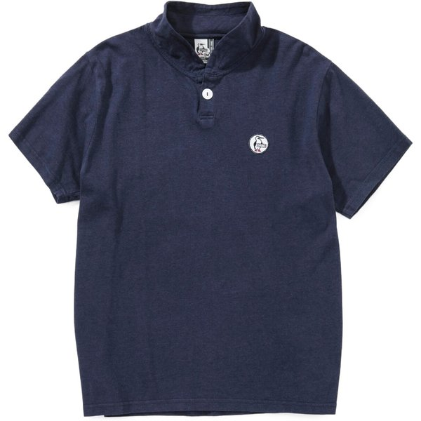 CHUMS チャムス Wappen Shawl Polo Shirt ワッペン ショール ポロシャツ 2m50cm 11