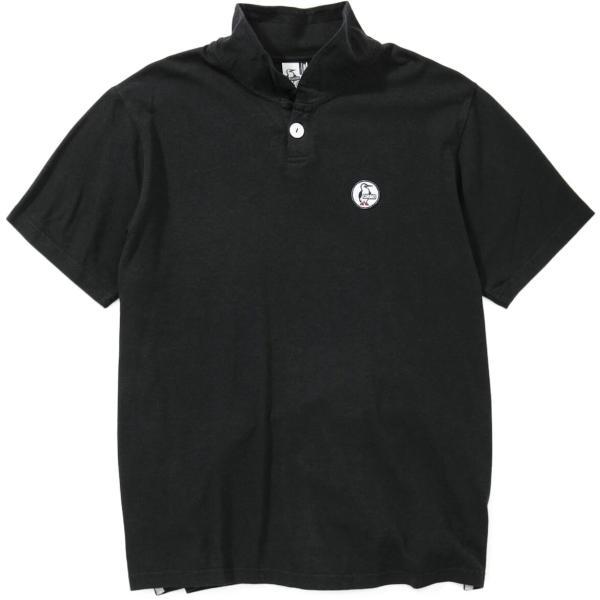 CHUMS チャムス Wappen Shawl Polo Shirt ワッペン ショール ポロシャツ 2m50cm 12