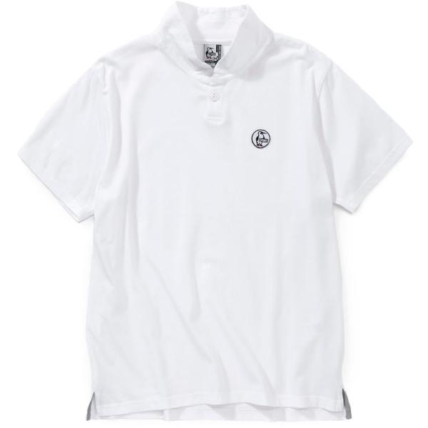 CHUMS チャムス Wappen Shawl Polo Shirt ワッペン ショール ポロシャツ 2m50cm 10
