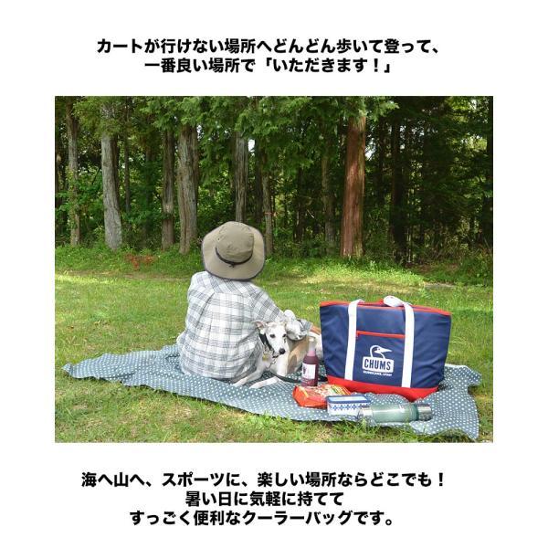 チャムス CHUMS クーラーバッグ Camping Cooler Tote Bag|2m50cm|04