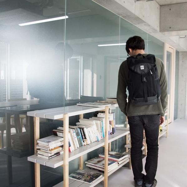 チャムス CHUMS デイパック ブックパック Book pack|2m50cm|11