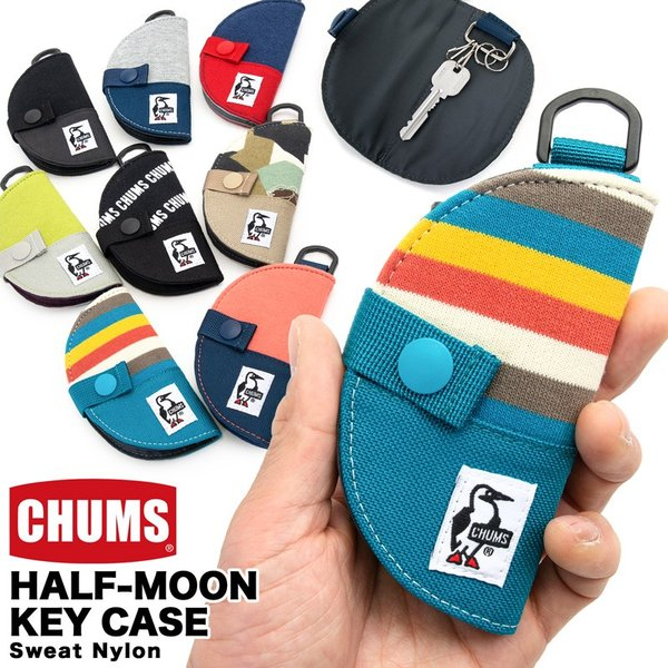 チャムス CHUMS Half-moon Key Case|2m50cm