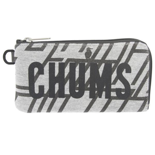 チャムス CHUMS 財布 ロングスクエア ウォレット スウェット 2m50cm 11