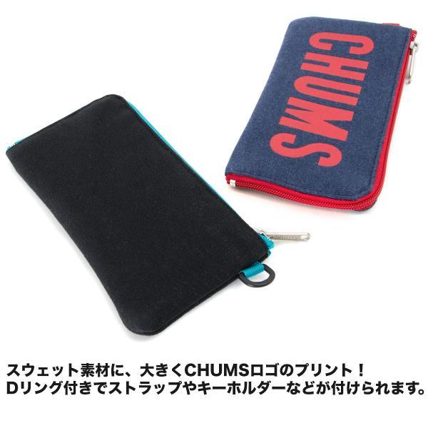 チャムス CHUMS 財布 ロングスクエア ウォレット スウェット 2m50cm 04