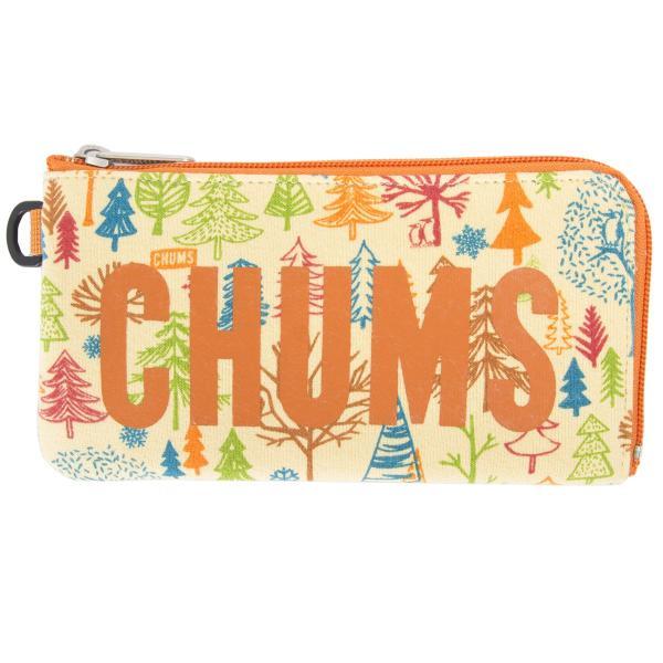 チャムス CHUMS 財布 ロングスクエア ウォレット スウェット 2m50cm 08