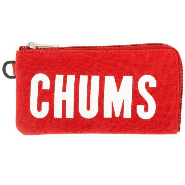 チャムス CHUMS 財布 ロングスクエア ウォレット スウェット 2m50cm 10