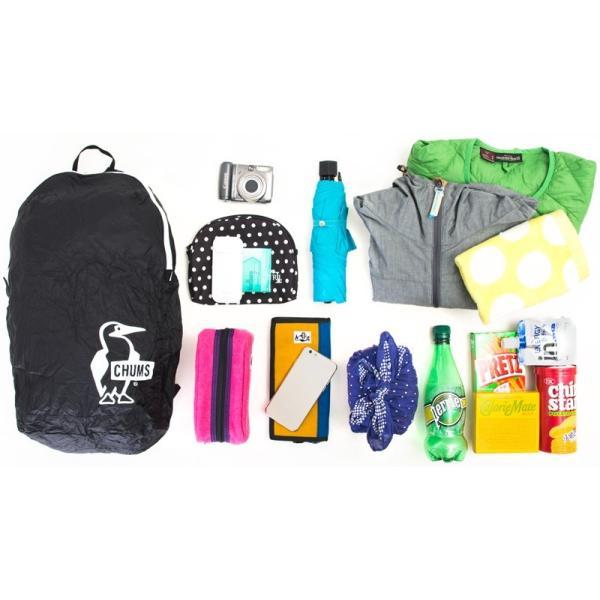 チャムス CHUMS パッカブルデイパック Packable Day Pack|2m50cm|11