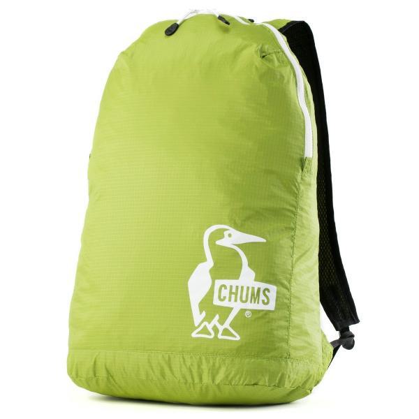 チャムス CHUMS パッカブルデイパック Packable Day Pack|2m50cm|14