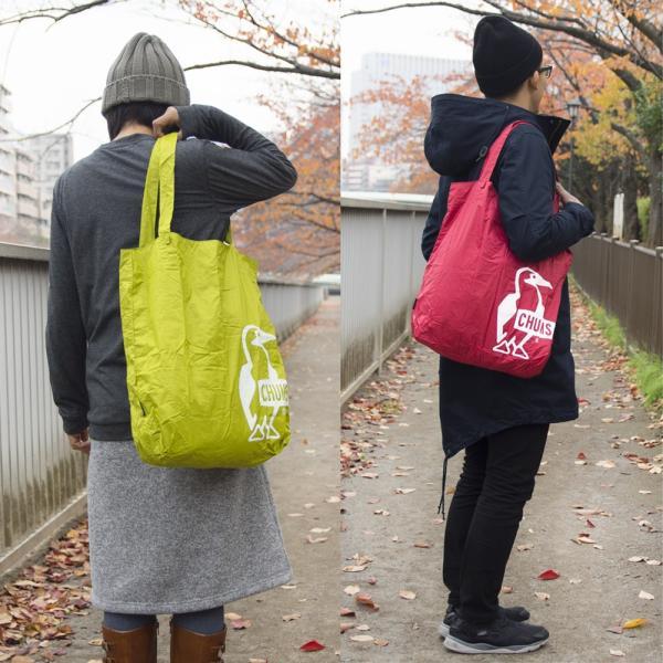 チャムス CHUMS パッカブルトートバッグ Packable Tote Bag|2m50cm|07