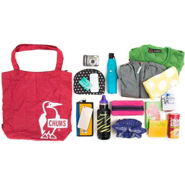 チャムス CHUMS パッカブルトートバッグ Packable Tote Bag|2m50cm|09