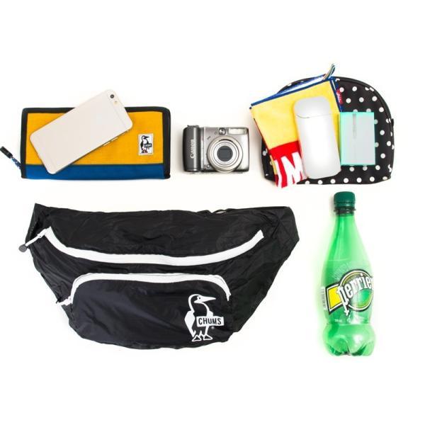 チャムス CHUMS Packable Fanny Pack パッカブル ファニーパック|2m50cm|06