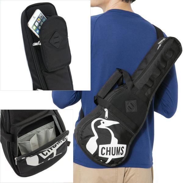 チャムス CHUMS ウクレレバッグエコ Ukulele Bag Eco|2m50cm|05