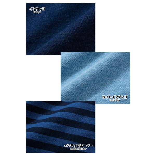 CHUMS チャムス Tシャツ CHUMS Logo T-Shirt Indigo|2m50cm|09