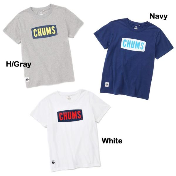 CHUMS チャムス Logo Dry T-Shirt ロゴドライTシャツ|2m50cm|02