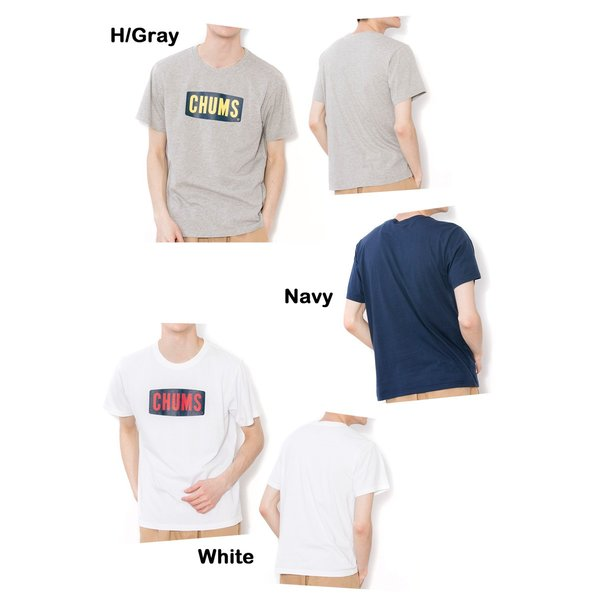 CHUMS チャムス Logo Dry T-Shirt ロゴドライTシャツ|2m50cm|05