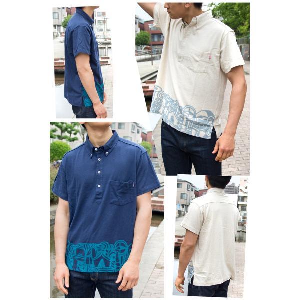 CHUMS チャムス Camp Goods Linen Shirt キャンプグッズリネンシャツ|2m50cm|06