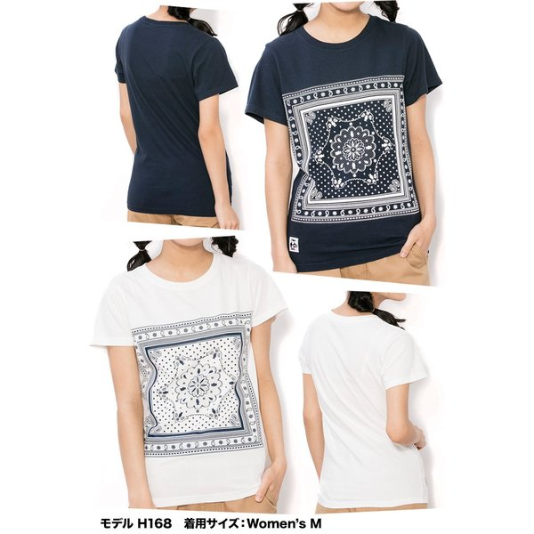 CHUMS チャムス Tシャツ Bandana T-Shirt|2m50cm|03