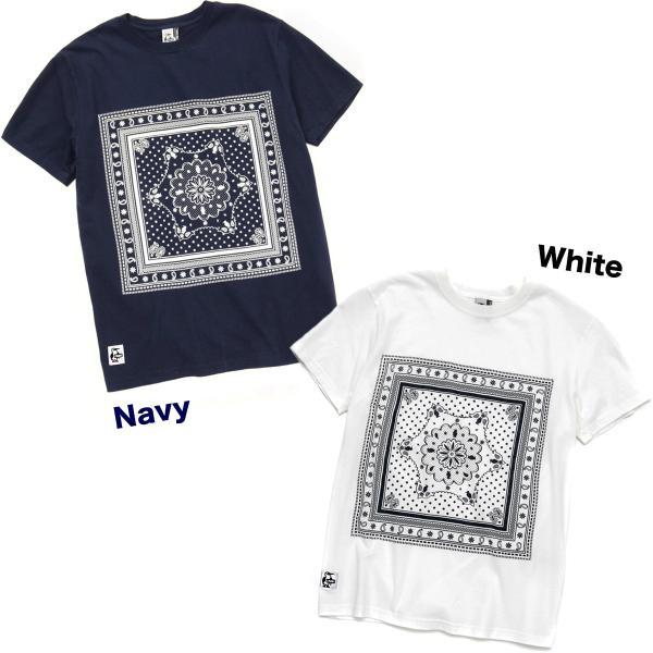 CHUMS チャムス Tシャツ Bandana T-Shirt|2m50cm|04